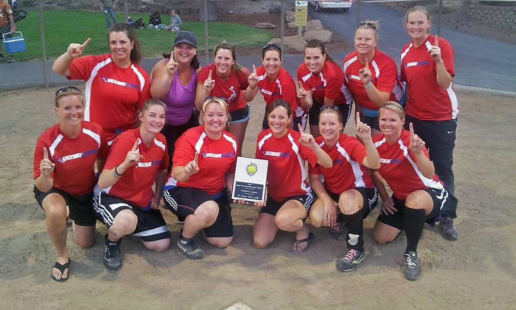 heather martin softball team championship photo