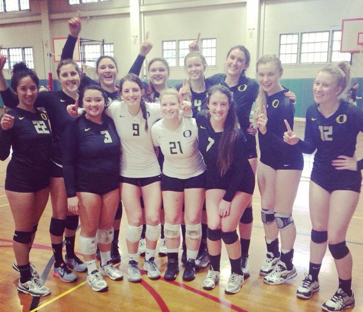 joanie volleyball team