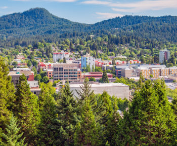 McMinnville aerial view