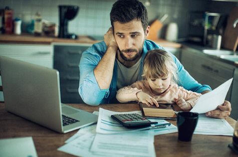 tackle your finances to avoid financial stress